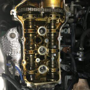 つしまオートでは、オイル漏れ修理もやってます。